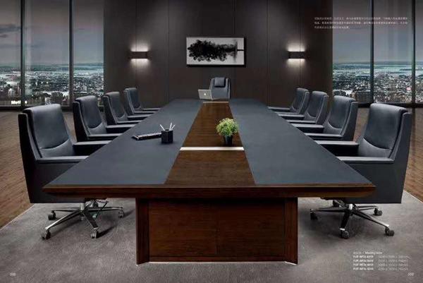 高端实木办公室桌椅