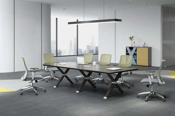 简约会议室桌椅
