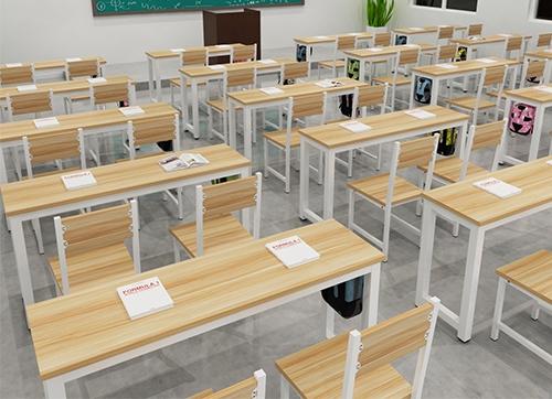 定制双人课桌椅
