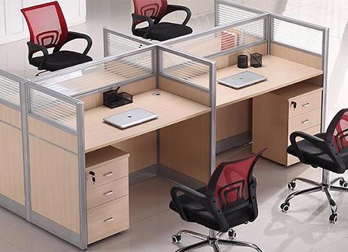 简约实用员工桌