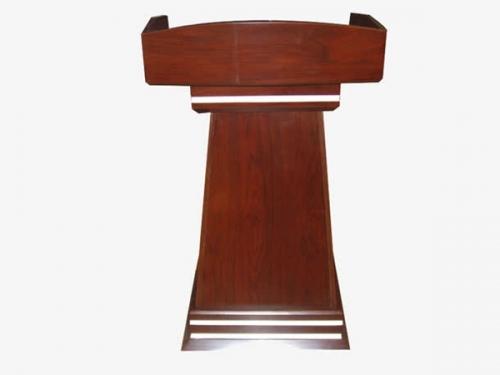 实木演讲桌