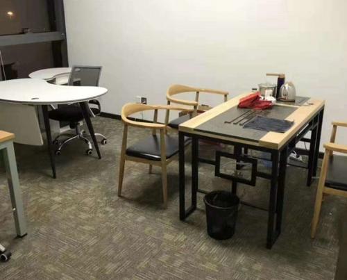 办公室配套茶台桌椅