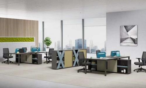 高档办公室桌椅组合